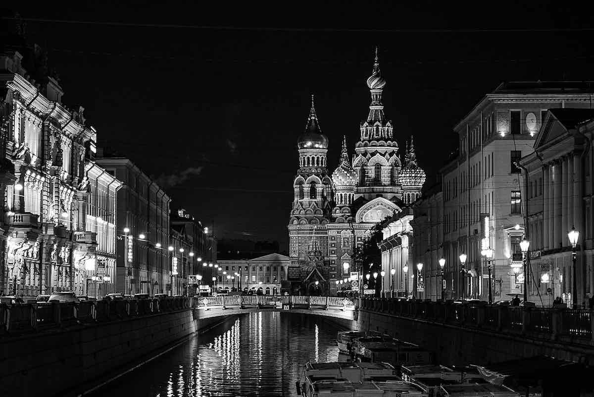 St Petersburg Russian by night