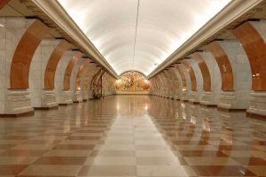 Moscow undergraound station