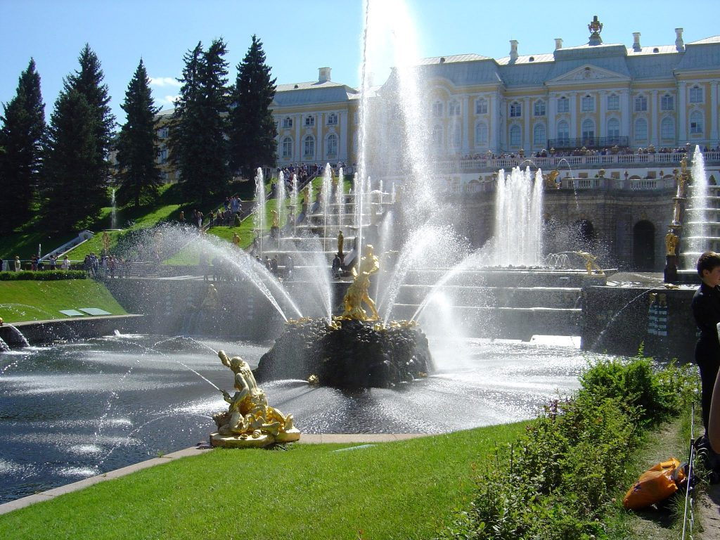 Gardens, Summer Palace of Peter the Great, St Petersburg, Russiaoutput_2f99