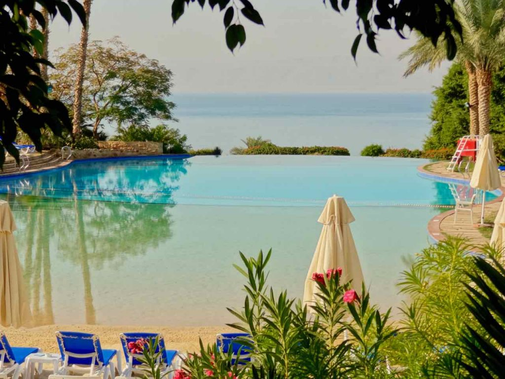Tropical oasis at Movenpick Resort & Spa Dead Sea, Jordan